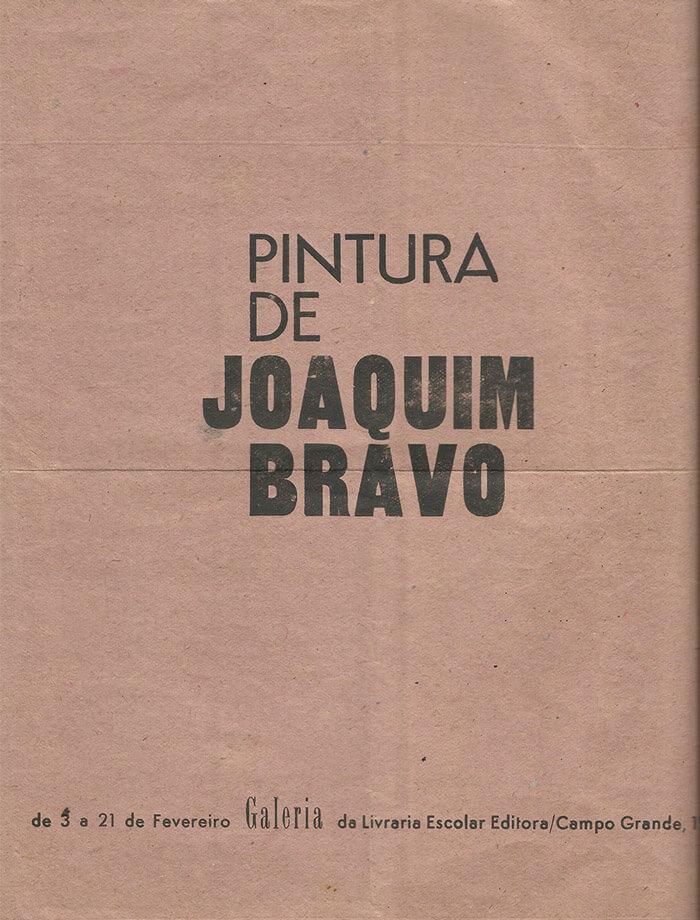 Folheto-para-a-Primeira-exposicao-da-Galeria-Joaquim-Bravo-Pintura